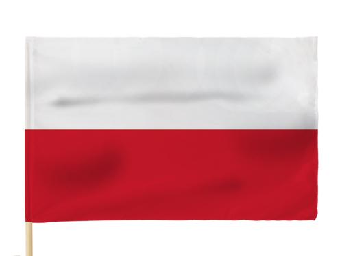 Flaga Polska Flagi Polski 110x70 cm GRUBY MATERIAŁ