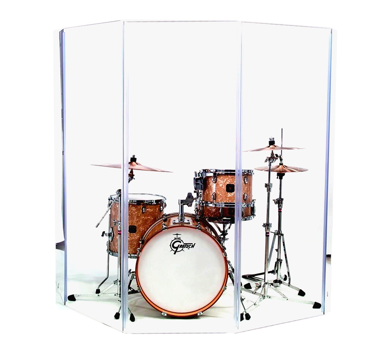 Akustická obrazovka z Plexigi Plexy 168 x 182 cm Krk