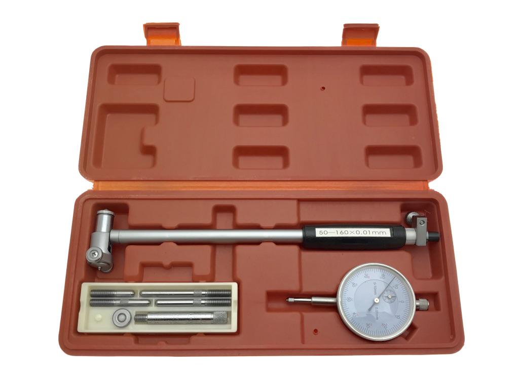 Stredné hodinky 50-160 x 0,01 mm F.VAT Senzor