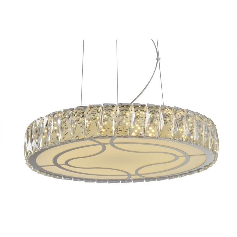 Moderná Lampa Luster crystal LED 36W NOVÉ