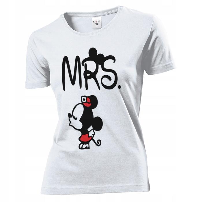 Koszulka damska Mrs Dla Niej Walentynki XL