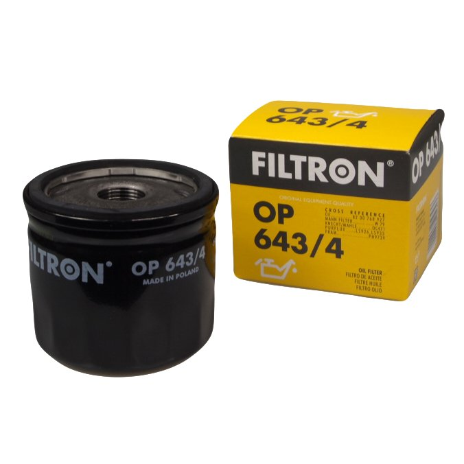 фильтр масла filtron op6434 nissan renault opel