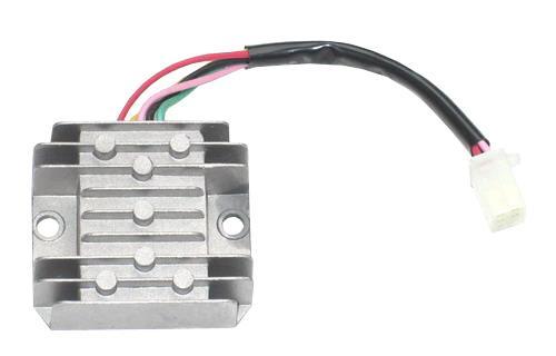 variklisleris QUAD ATV 4T 2T - reguliatorius itampos 5 pin