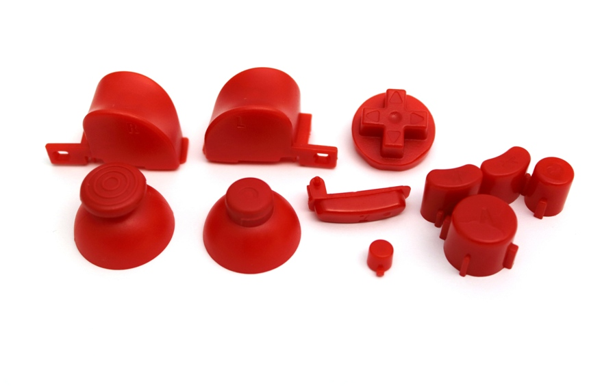 Item Mushrooms, button kit for controller Game Cube [June]