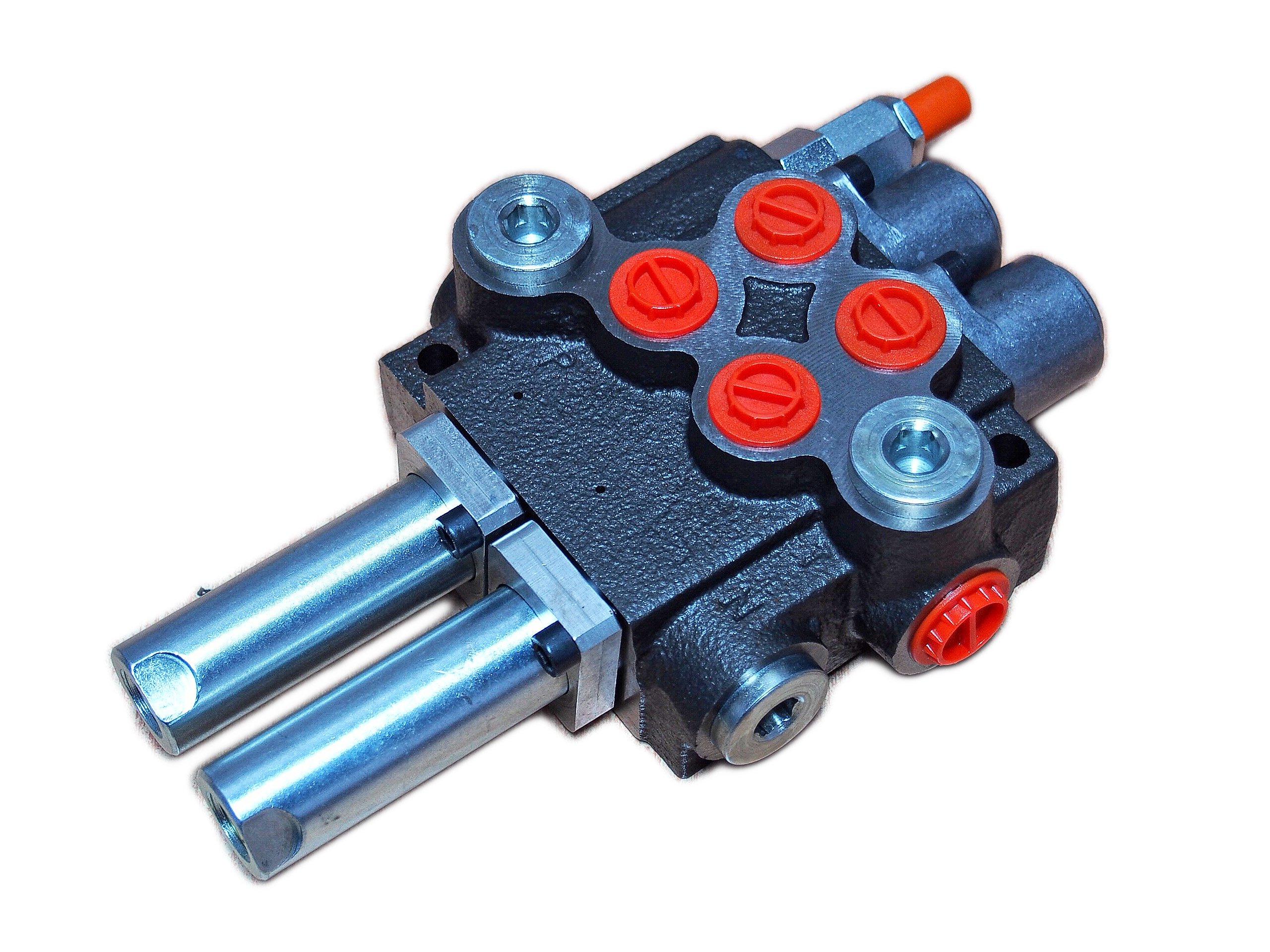 Hydraulický distribútor pre 80l 2 odkazy