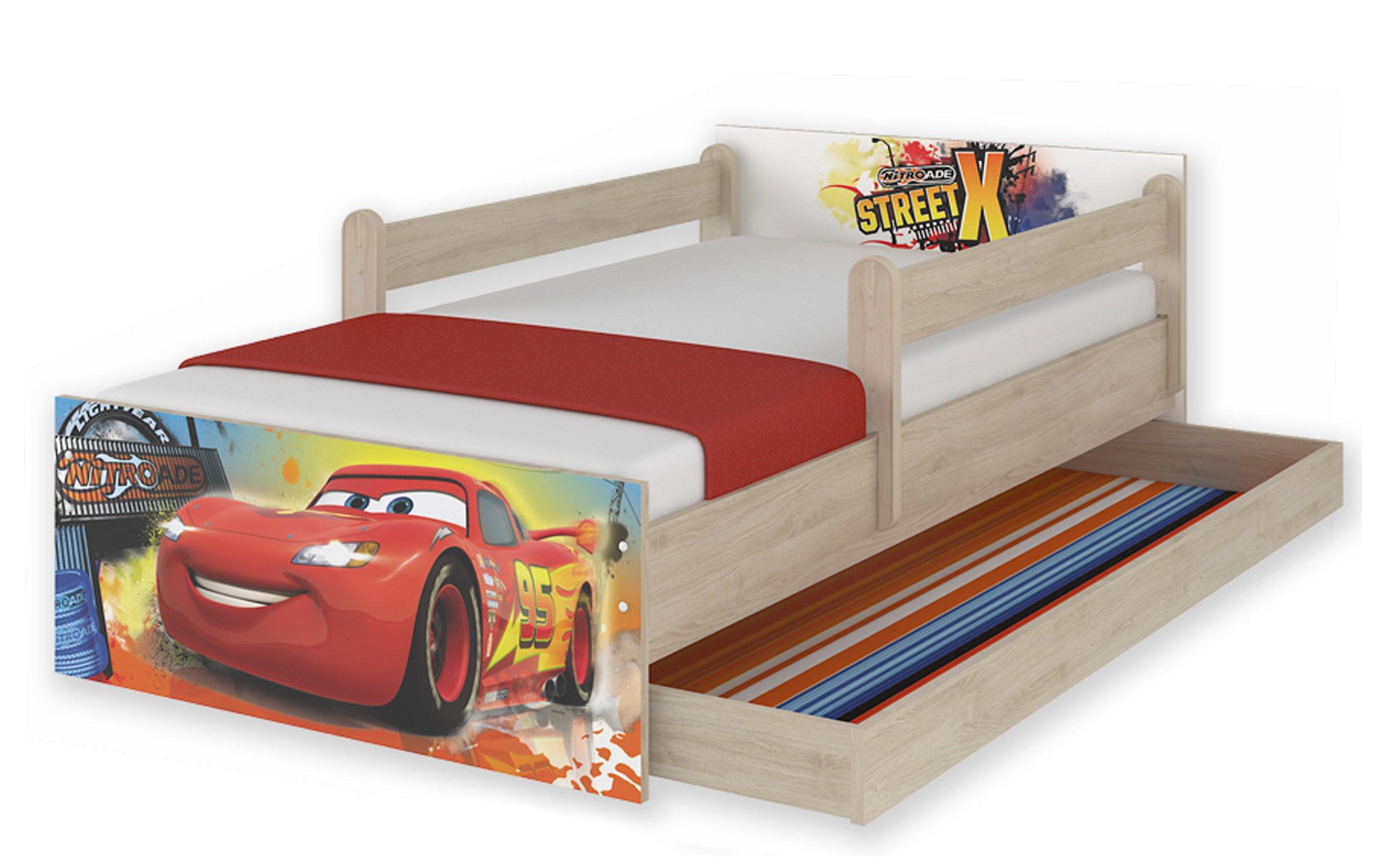Łóżko dziecięce łóżka Max 200x90 szuflada Disney