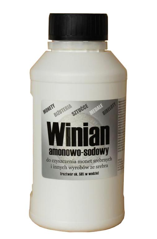 WINIAN amonowo натрия для чистке монет 500 мл
