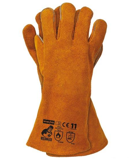 Rękawice spawalnicze do spawania WELDOGER r11 1p