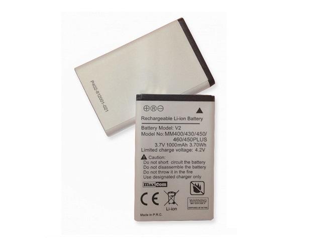 Oryg. Bateria Maxcom MM400 430 450 460 132 335 136