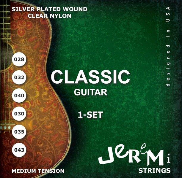 Jeremi CG2843 Klasické gitary Nylon