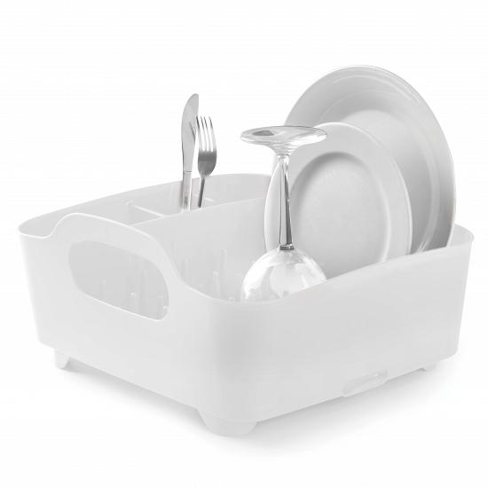 Сушилка для посуды TUB белая, чтобы Umbra