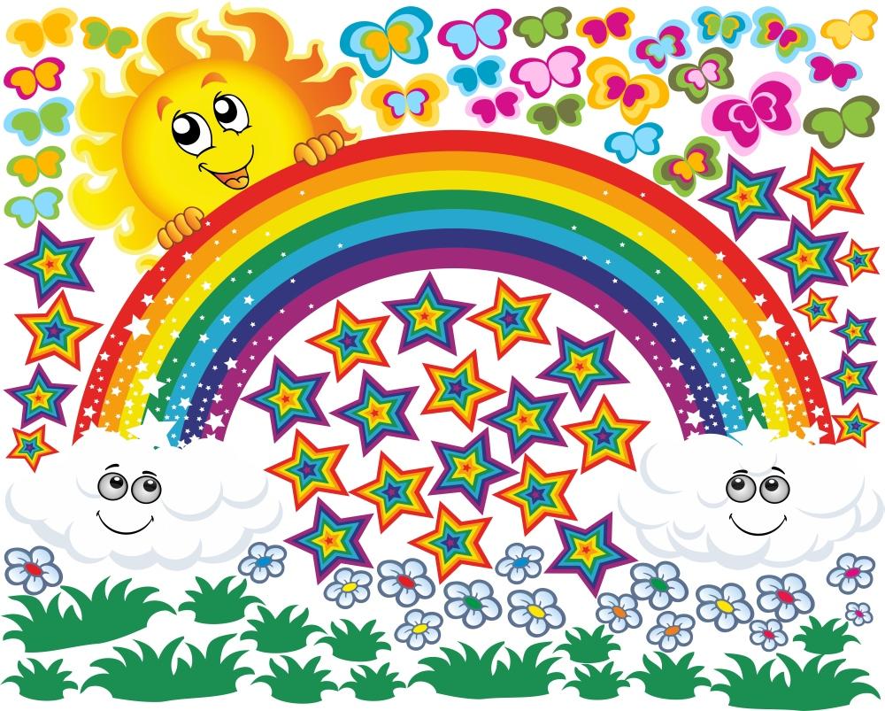Картинки про радугу прикольные