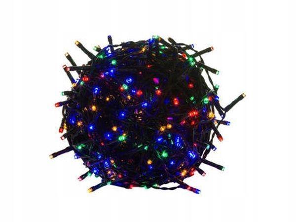 LED svetlá na vianočný stromček 500 farebných 41m