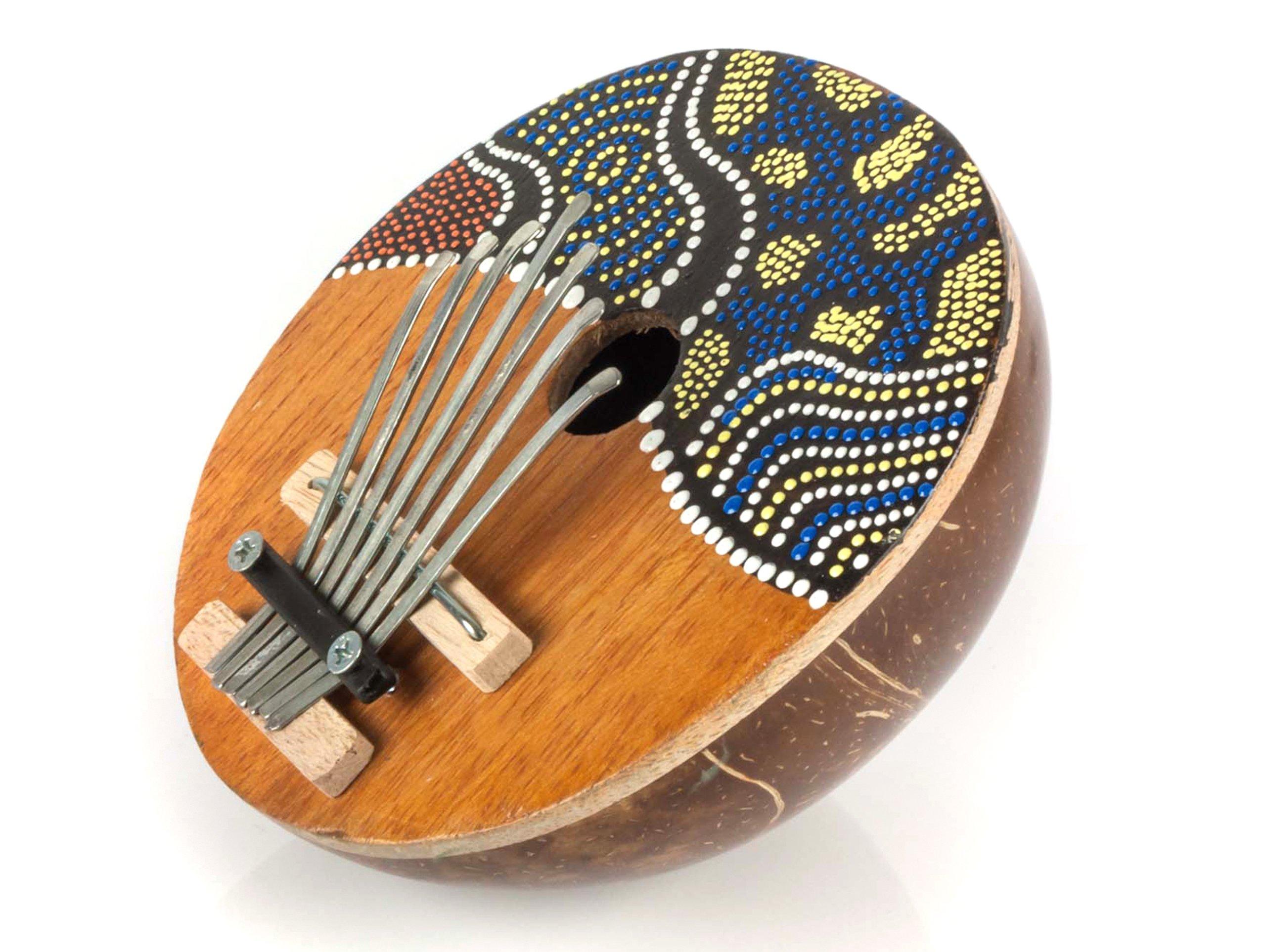 Karimba orientálny nástroj Kalimba z kokosu