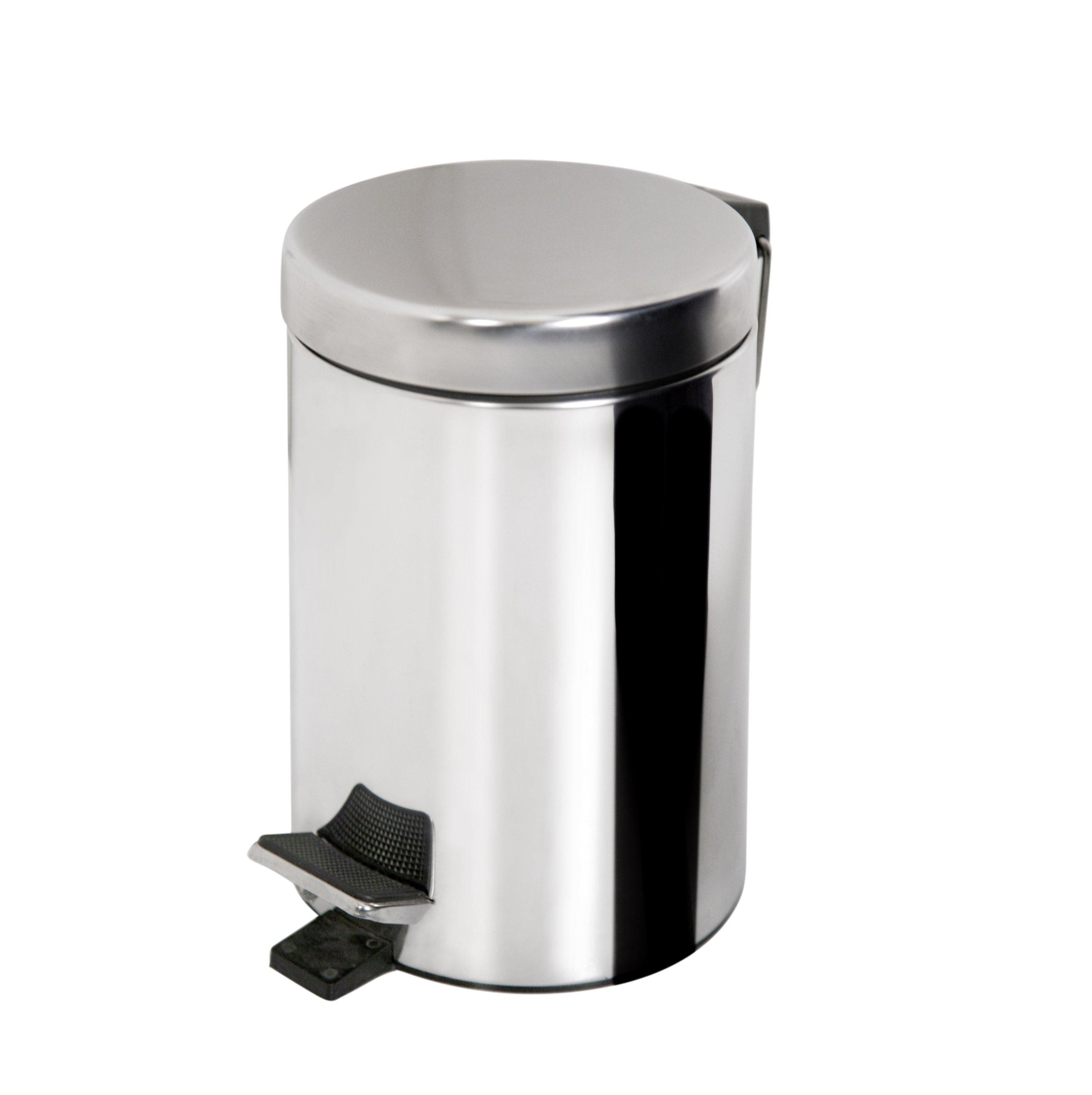 Skript Basket Dumpster Chrómované oceľové 3 litre