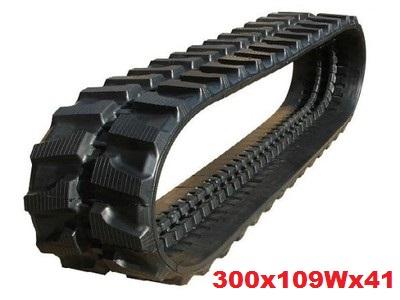 tracked 300x109x41W JCB 8030, VOLVO KUBOTA
