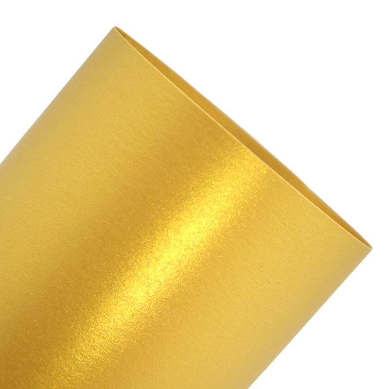 Pearl Paper Sirio 230 g / m2 Zlaté pozvánky