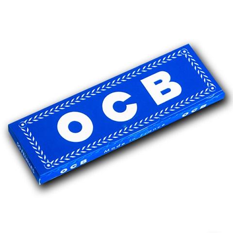 Ткань блеф OCB синий синий 50 листьев