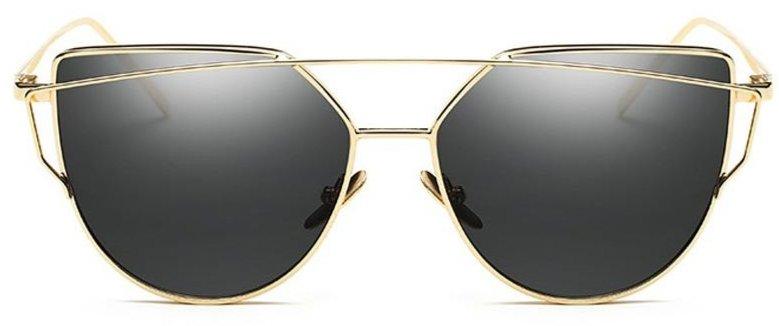 Солнцезащитные очки для глаз, чёрное золото