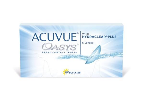 Купить Линзы Acuvue Oasys 6шт. на Otpravka - цены и фото - доставка из Польши и стран Европы в Украину.