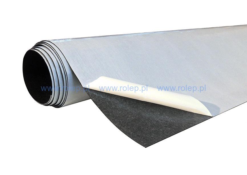 Čierna technická netkaná textília, 1000 x 1000 x 1,5 mm