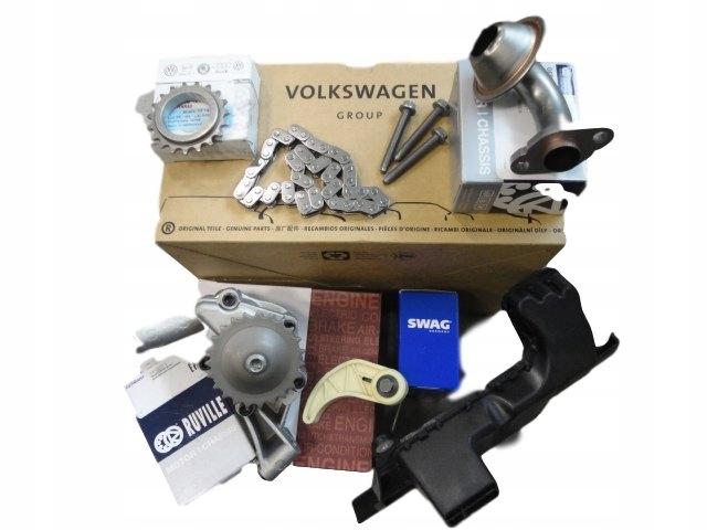 NOWY ZESTAW НАСОС МАСЛЯНЫЙ AUDI VW SEAT 2.0 TFSI FSI