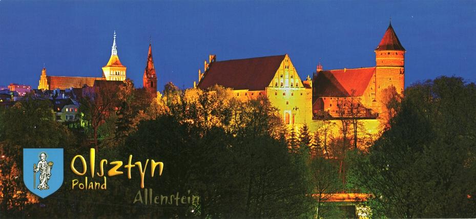 Olsztyn 04 - Panoramická pohľadnica