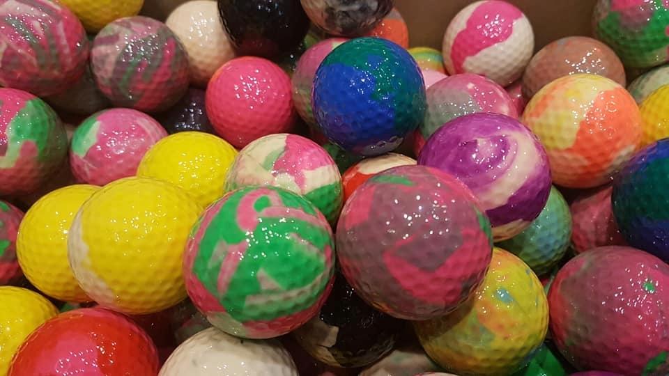 Купить ЦВЕТНЫЕ Мячи для Гольфа ГОЛЬФминиГОЛЬФ ХИТ на Eurozakup - цены и фото - доставка из Польши и стран Европы в Украину.