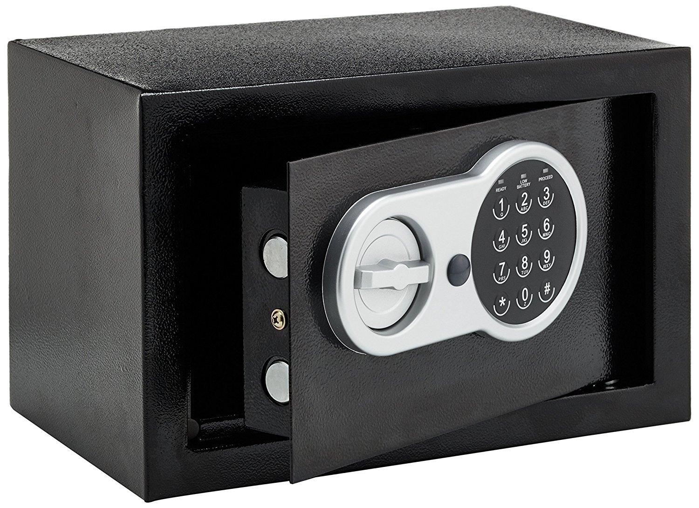 сейф электронный домашний шкатулка на шифр ключ