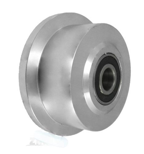 Prírubové kolesá s pevnou oceľou 100 mm železničných koľajníc