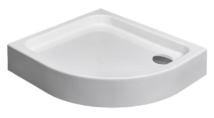RADAWAY Siros E Kompaktná kvadrantová sprchová vanička 90x80