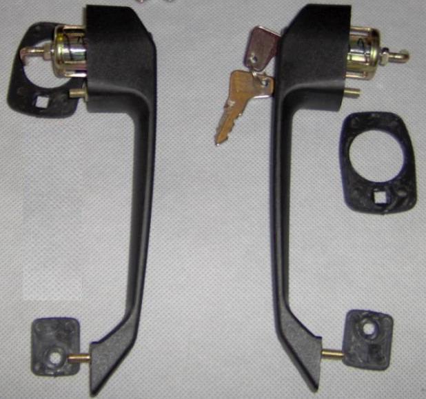 Ручки наружные двери + ключи Trabant 601/1.1