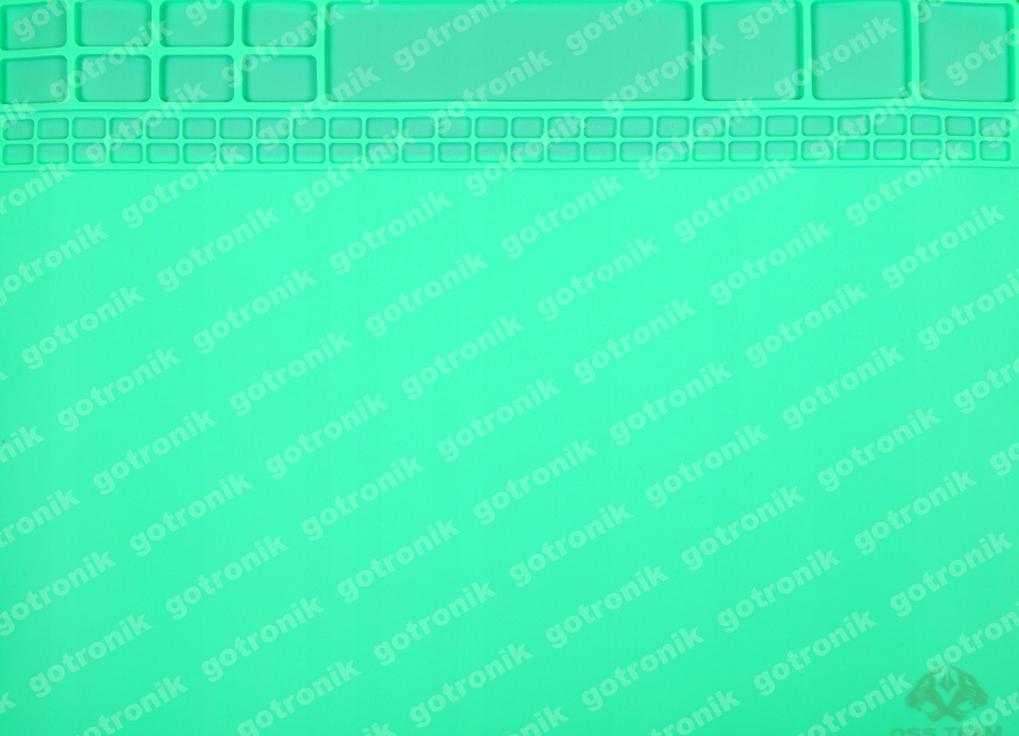 Silikónová podložka 40x30cm ZELENÁ ____________ MAT-006