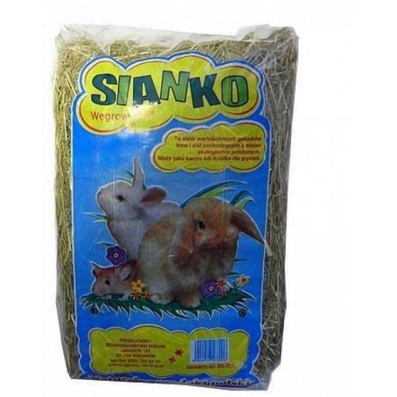 Сено, Сено Węgrowskie для грызунов 20 -22L / A09