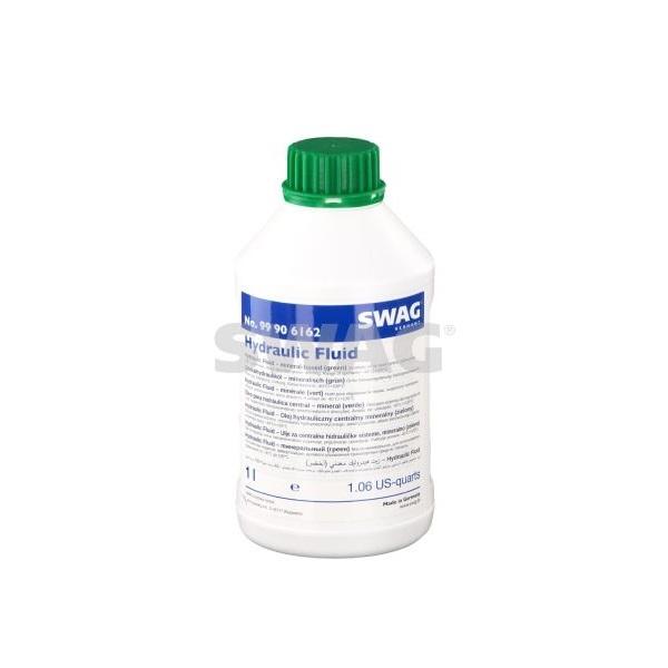 масло жидкость для гидроусилителя руля минеральное зеленый SWAG 1L