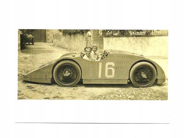 Pocztówka - Stare samochody - Bugatti Type 32 ...