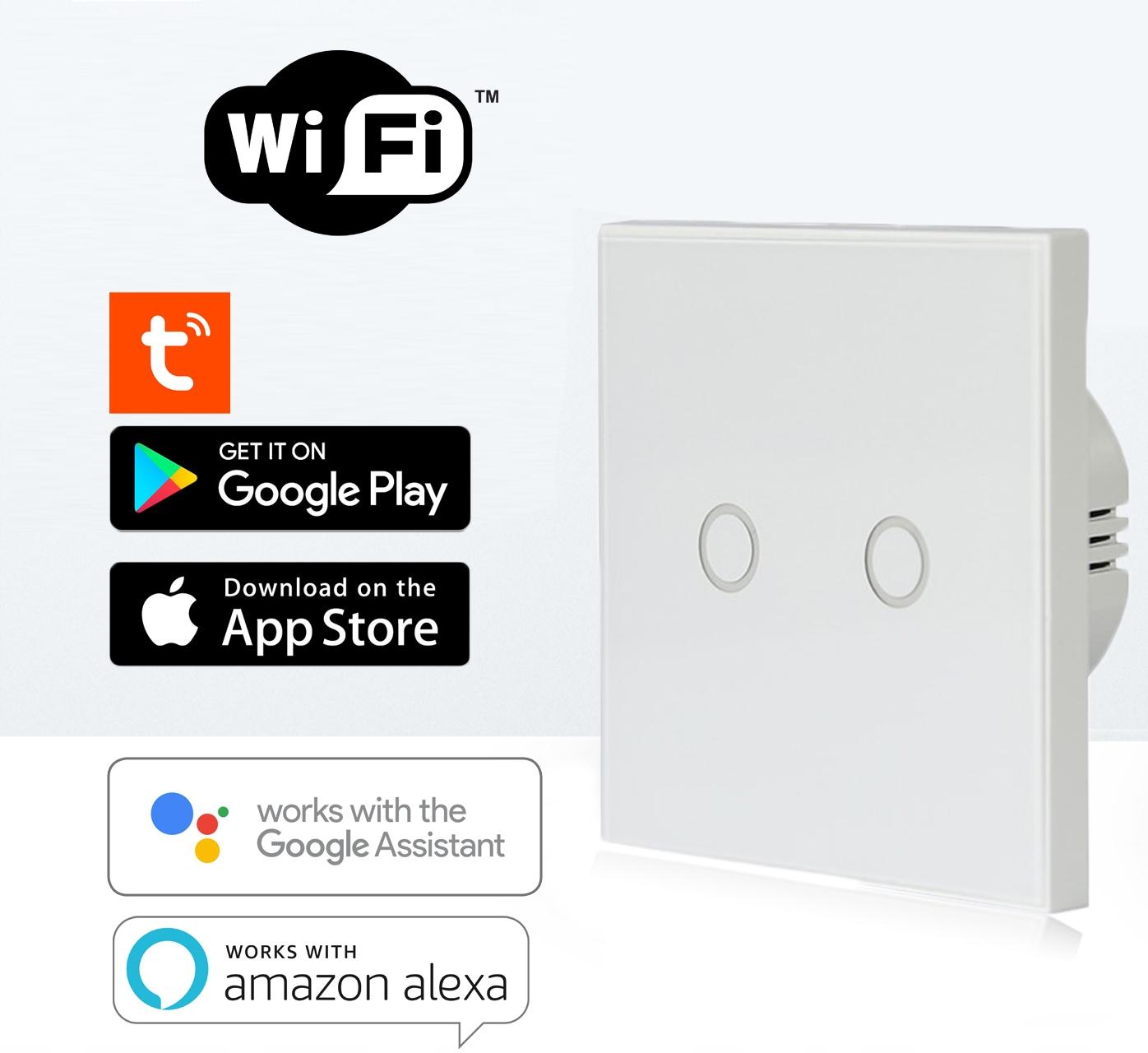Włącznik światła NEO WIFI Alexa TUYA iOS ANDROID Seria NAS-SC01W