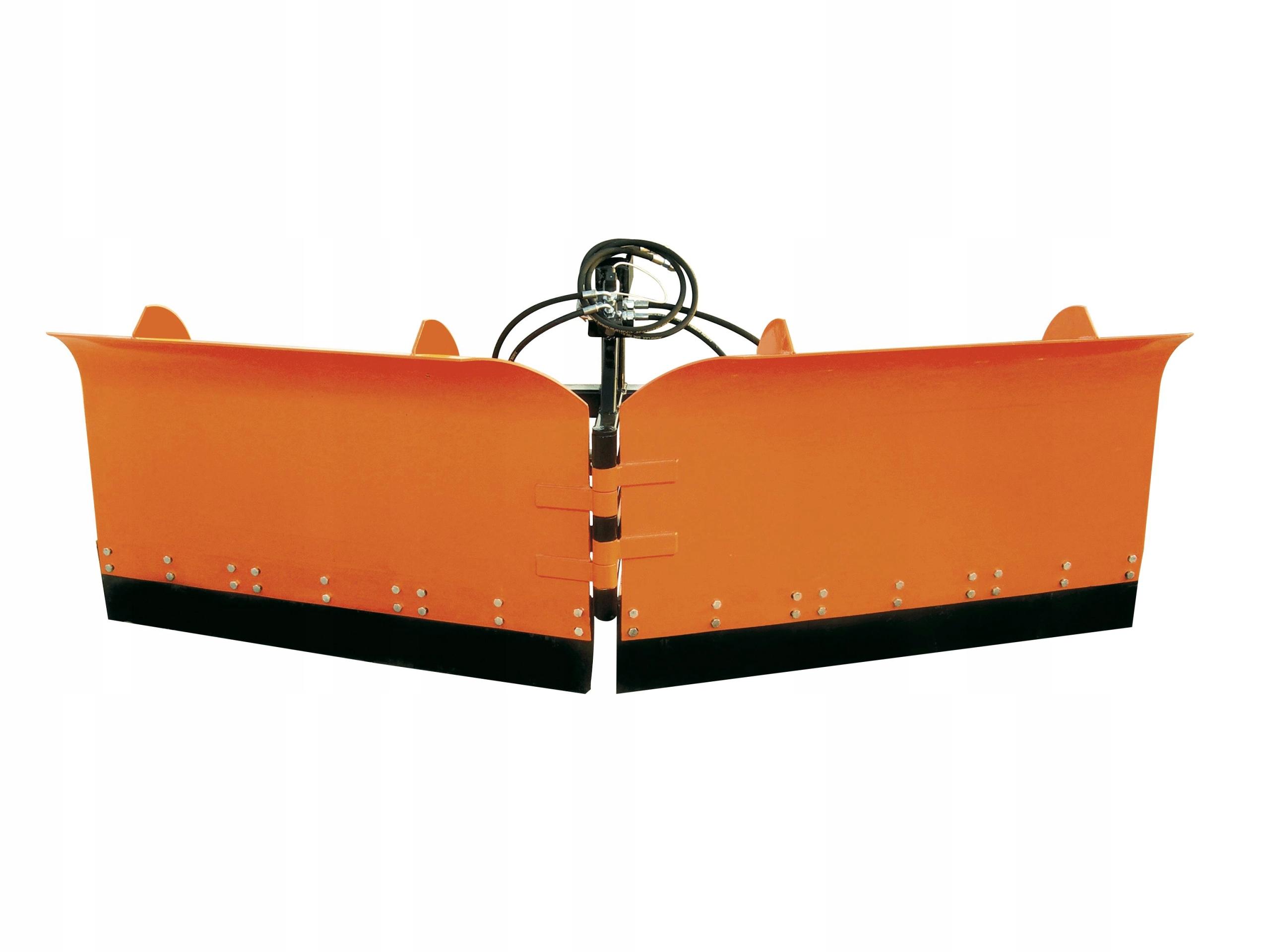 Снегоуборочная складная сагиттальная 3м гидравлический