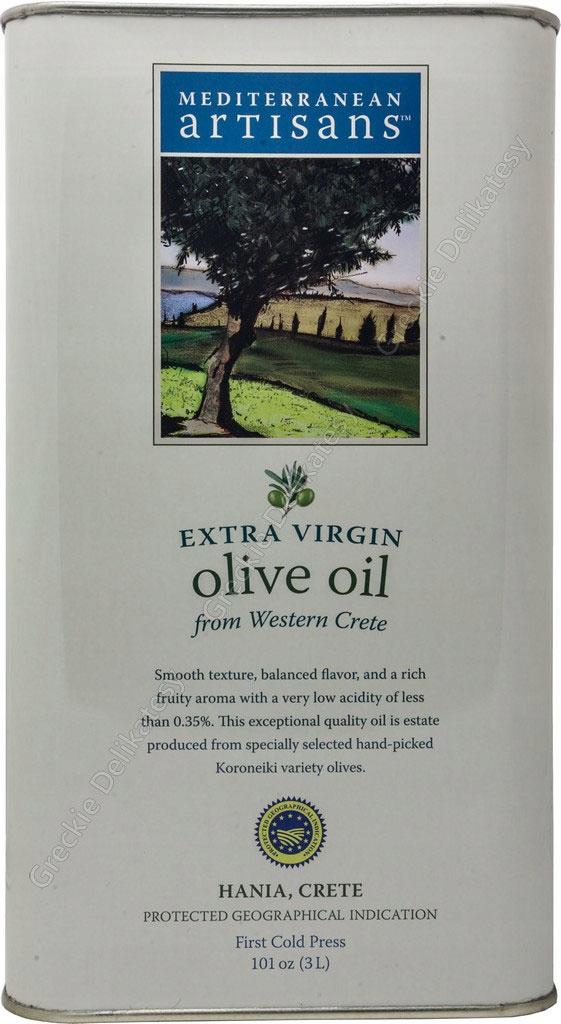 POSLEDNÁ OLIVOVÝ olej z KRÉTY - 3l, zb. A 2020