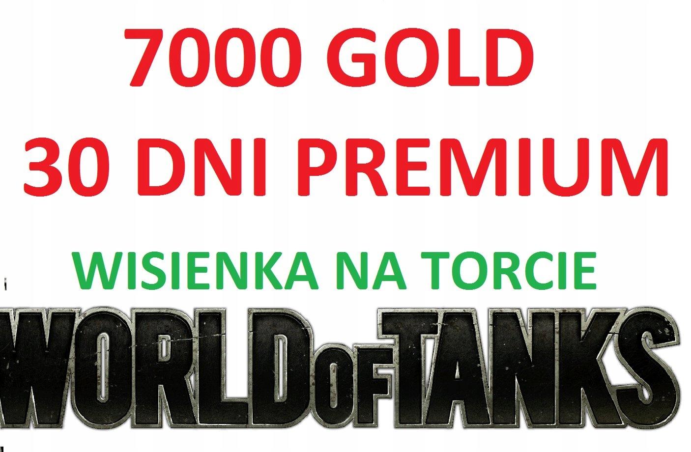 Купить WOT GOLD 7000 30 Премиум-Вишенка на Торте на Otpravka - цены и фото - доставка из Польши и стран Европы в Украину.