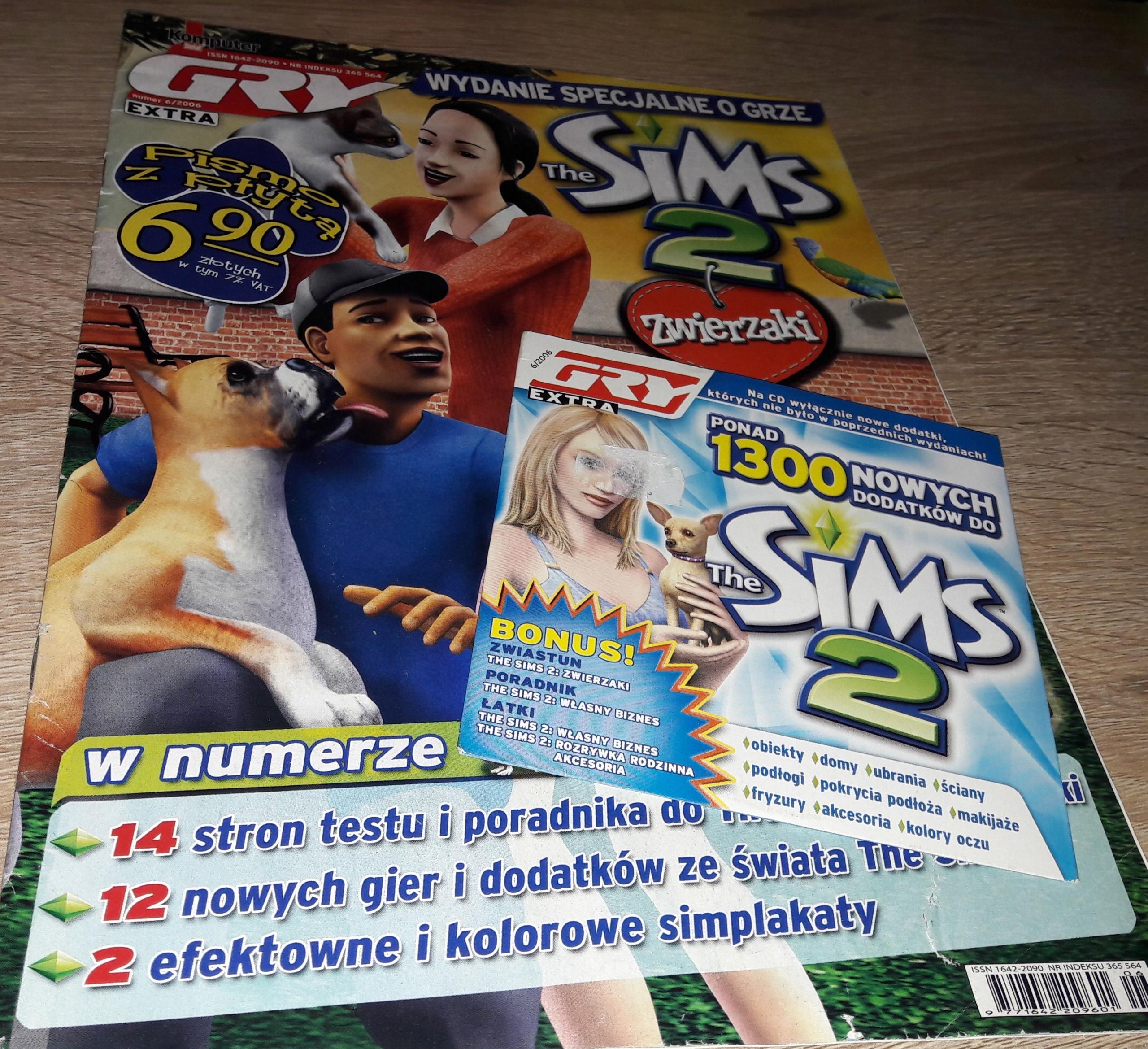 Ponad 1300 Nowych Dodatków Do Sims 2 Czasopismo