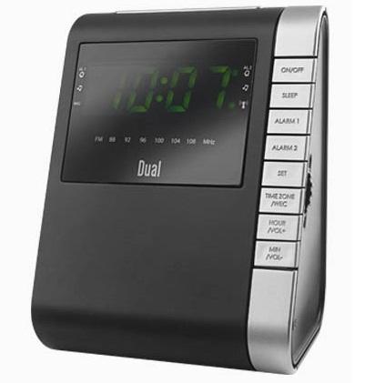 RADIO CLOCK RADIOBUDZIK DUAL RCCR2 LED