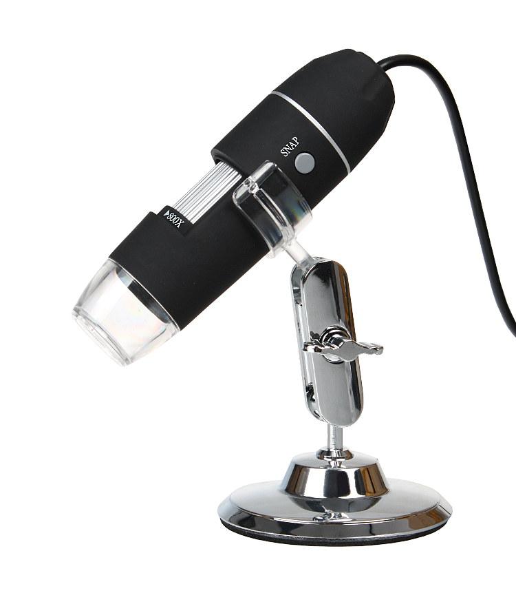 USB 2 MPX Digitálny mikroskop Aproximácia 800x