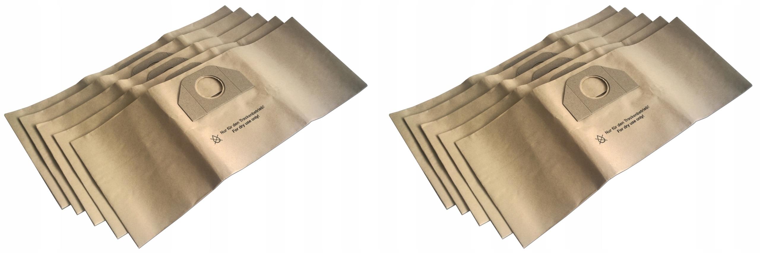 10 x Мешки для KARCHER MV 3 WD3 200 6.959-130.0