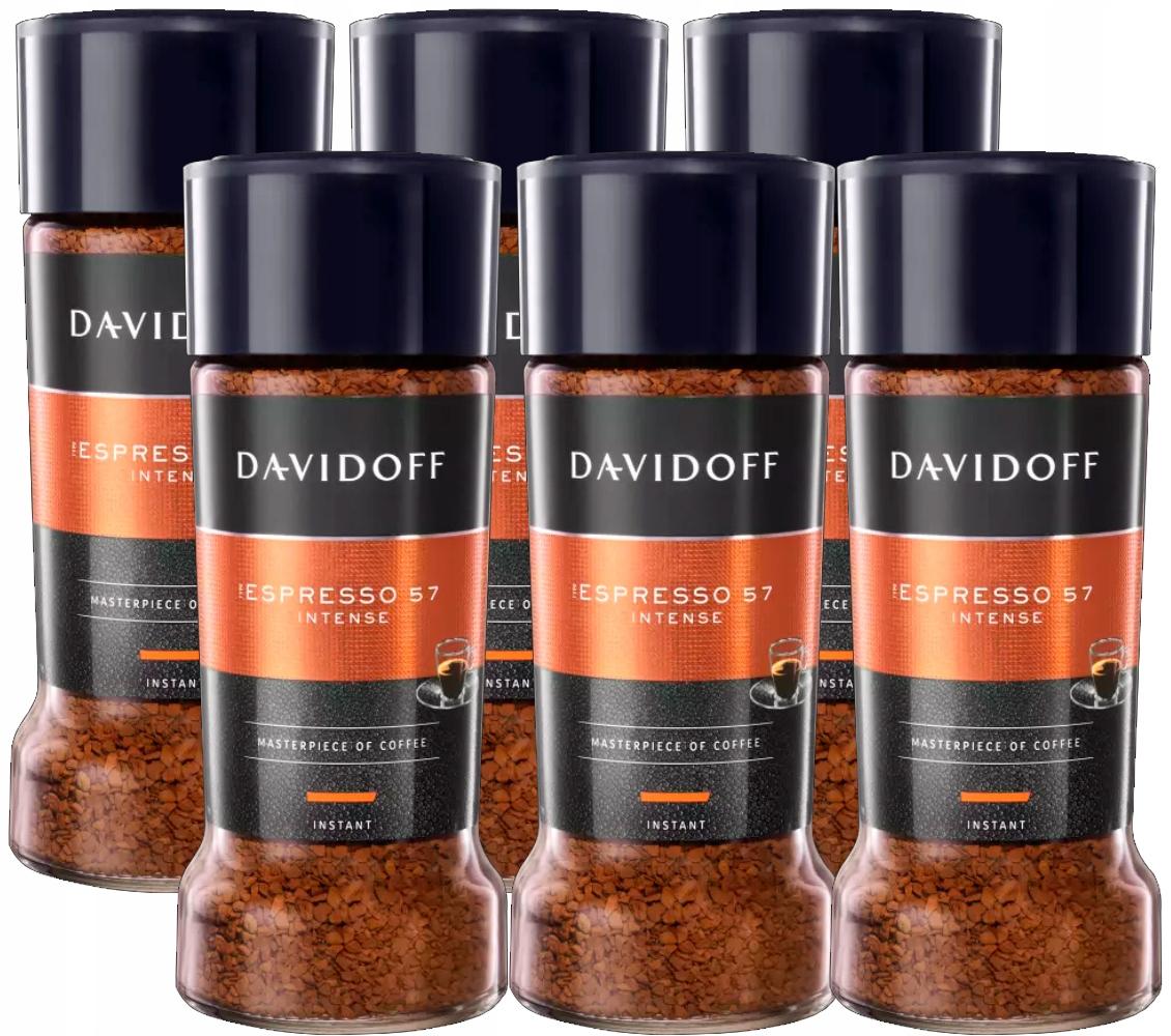 6x instantnej Kávy DAVIDOFF Espresso 57 100 g FV