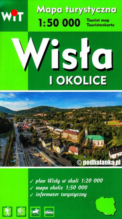 Item Wisła i okolice Beskid Śląski mapa 2018 Wyd. WIT