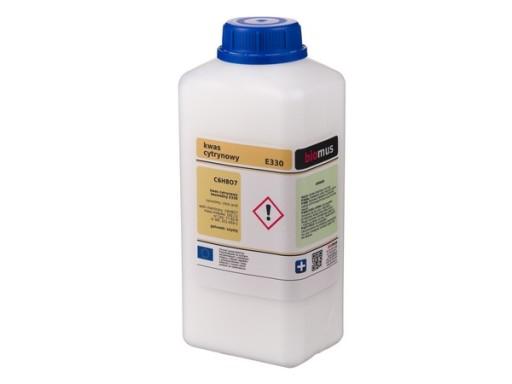 KWAS CYTRYNOWY kwasek czysty 1kg BIOMUS 1000g