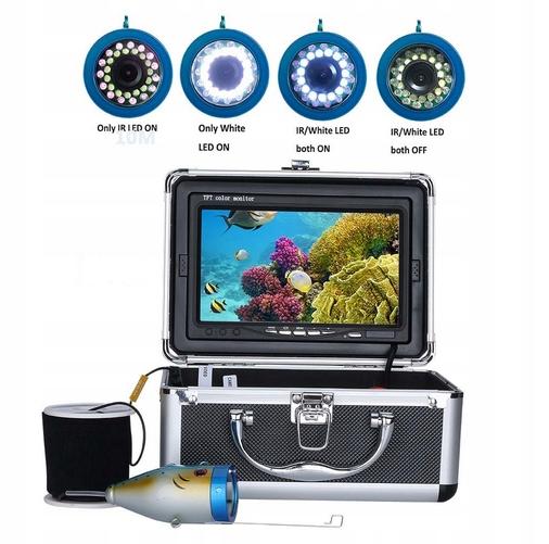 Nový model!!! Podvodná kamera pre rybolov s 15 m