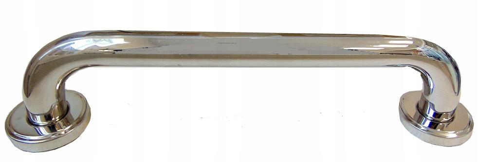 Chrómová kúpeľňová rukoväť 30cm deaktivovaná 020