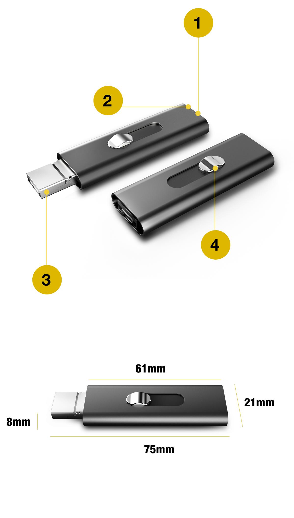 DYKTAFON PROFESJONALNY PODSŁUCH VOX OTG 16GB 15H Zasilanie akumulatorowe